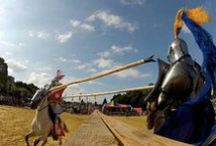 The Joust -- Contemporary Competitive Jousting Tournaments / Images of jousting, mounted melee, mounted skill at arms, mounted archery and other aspects of contemporary competitive jousting tournaments.