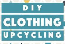 DIY - Clothing Upcycling / DIY clothing upcycling and redesigning projects to help stretch your wardrobe and make it last longer.
