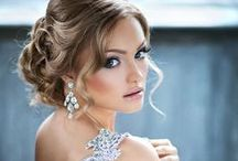 Wedding Beauty / Bride and bridemaids makeup, hair, nail...