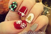 Beauty/Christmas nails / Nails Art