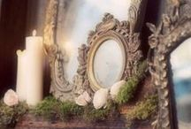 Time-Out Reflecting on Antique Mirrors