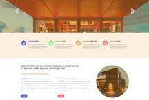 Maquetas para Sitios Web / Ideas de Sitios Web para varios diferentes negocios, empresas e individuos.