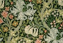 William Morris & Co / Design of fabric and wallpaper
