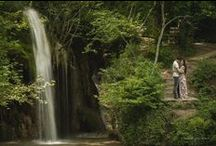 Pre Wedding Photo Shoot / Landscape inspired photo shooting by Manthos Tsakiridis