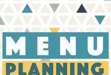 Menu Planning / Menu and meal planning   Saving money on groceries   Meal plans   Menu plans