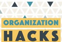 Organization Hacks / Organization hacks, organization hacks with kids, organization hacks for life