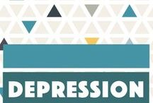 Depression & Anxiety / Depression remedies, depression quotes, mental health advice and self-care routines for depression