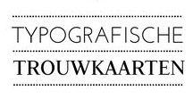 HIPDESIGN • Typografische trouwkaarten / Kondig je trouwdag aan met een typografische trouwkaart van hipDesign. In deze hippe collectie typografische trouwkaarten vind je kaarten met mooie lettertypes en strak design. Tekst speelt een belangrijke rol in deze designs en jullie namen spelen hier natuurlijk een hoofdrol in. hipDesign laat een trendy collectie zien van waaruit je kunt kiezen of je start zelf met een blanco kaart.