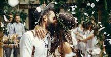 свадьба в стиле амбар / Свадьба в амбаре, индустриальный шик