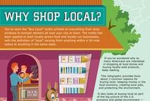 Local Learning Infographics / Okay, so WE know that YOU know why supporting local is awesome. Check out these pins for the facts that prove it!