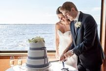 Wedding Cakes / SunQuest Cruises' wedding planners have helped many couples make their Destin weddings a reality with unique themes and decor aboard the yacht as well as using their local connections to ensure the day is perfect.
