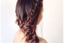 Sexy Culrls, Waves, updo's, ect. / by Savannah 😜😀😉😊