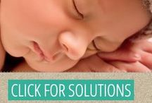 """Gentle Baby Sleep Tips / Parents, it is not """"let your baby cry it out OR never sleep again."""" Click through for gentle baby sleep tips, inspiration and support. http://mymommymanual.com/lets-hold-hands/baby-sleep/"""