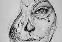 Sugarskulls / by Mirella Minderman