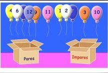 1º Primaria Matemáticas / Recursos didácticos digitales y otros para el área de Matemáticas de 1º Nivel de Educación Primaria.