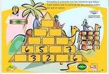 Matemáticas Cálculo mental / Actividades y juegos para desarrollar el cálculo mental en Matemáticas de Educación Primaria utilizando las operaciones de suma, resta, multiplicación y división.