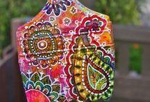 Prints, patterns, zentangle / Amazing prints & patterns, zentangle