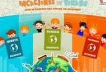 Verano: Juegos y actividades educativas / Juegos y actividades educativas de vaciones de verano para niños de educación infantil y primaria.