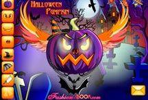 Halloween / Actividades interactivas, juegos y otros materiales educativos referidos a Halloween.