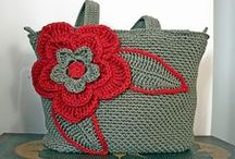 Torby i torebki / szydelkowe torby torebki