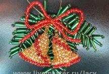 Boze Narodzenie w koralikach / Boze Narodzenie