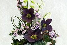 Kwiatki  i ozdoby z rajstop