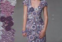 Szydelkowe sukienki