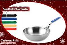 Wok Tavalar / Renkli saplı, çelik,teflon birbirinden kullanışlı wok tava çeşitleri ile kolay yemek yapmanın keyfine varın. http://www.cafemarkt.com/wok-tavalar-pmk369 Wok tava,teflon wok tava,çelik wok tava,indüksiyonlu wok tava,seramik wok tava,bakır wok tava