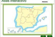 Mapas educativos interactivos / Juegos, actividades interactivas y materiales digitales centrados en mapas geográficos e históricos para la Educación.