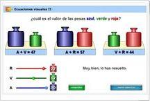 Secundaria Matemáticas / Juegos, actividades interactivas y materiales didácticos para el aprendizaje de Matemáticas en Educación Secundaria Obligatoria.