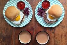 Breakfast time / Une collection d'images inspirantes pour ré-inventer mon repas préféré de la journée. A gallery of inspiring images of my favourite meal of the day