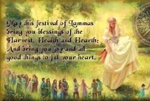 Lammas / Let's share our blessings and ideas for spells and rituals. Please view and comment on each other's pins. Blessings for a bountiful harvest from Babs.