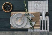 Tableware | Tafelgerei / Hier vindt je verschillende foto's van borden!