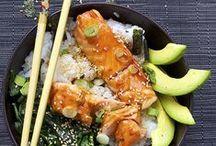 Mmmmm... fish & sea food