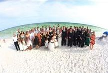 Destin Beach Weddings - Cayci and Trent June 2016 / Congrats to Cayci and Trent who hosted a dream Destin wedding in June 2016. From beach to bay, they celebrated with the ultimate wedding in Destin Florida, using 2 of the most memorable wedding venues – the beach and a 125 foot yacht. The SunQuest Cruises wedding planners worked with Cayci and Trent from Nashville to plan everything from the beach wedding to the yacht reception that made it a seamless and stress free process.