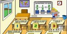 Matemáticas Fracciones / Conjunto de juegos, actividades y materiales educativos para el aprendizaje de las Fracciones y sus operaciones.