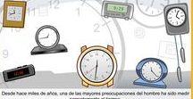 Matemáticas Tiempo / Conjunto de juegos, actividades y materiales educativos para el aprendizaje de las Medidas de Tiempo.