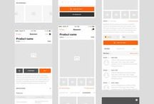 Mobile - Wireframes