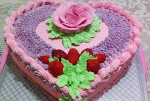 My Cake / with just a little imagination, a touch of art and taste .. it will create a work of art. If I used to carve my work on paper width. now, scratch art for my cakes.