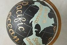 We <3 Globes / As you can tell from our logo, we sorta love globes. We're always on the lookout for a good globe.