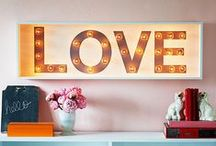 Easy home decor ideas / Home is were the art is