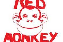 RED MONKEY / Diseños del logo para la camiseta del taller de programación donde estudio.