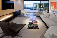 LIVING ROOM / Residential Living Rooms Featuring Our Gorgeous Kasthall Rugs.