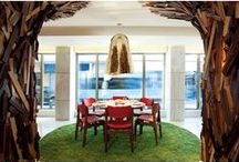 DINING ROOM / Residential Dining Rooms Featuring Our Gorgeous Kasthall Rugs.
