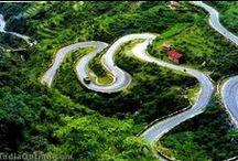 Roads, Bridges & Paths / Amazing road to drive on, wonderful paths to walk / by Ziad Shannak