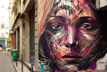 Art - Streets, Walls and Beach / Street Art; paintings on streets, pavements and building walls. / by Ziad Shannak