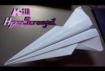 Aviones de papel / Tutoriales de modelos de aviones de papel del blog http://doityourpaperairplane.blogspot.com.es/