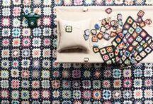 PRINTED WOOL RUGS / Kasthall has a variety of printed on wool & linen rugs.