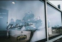 #challengewinter x Kopparberg Strawberry & Lime x Surf / Challenge Winter is all about taking back the summer feeling by doing the summer activities Swedish midwinter. Here's our surfers catching waves in February.  #challengewinter