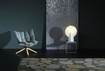ARCHIPELAGO / The rug is hand tufted in the finest wool and linen with sparkling touches of Lurex. Bright Archipelago March is reminiscent of a chilly spring day, when the air is clear and the sun shines in the sea and dark Archipelago November is inspired by a sombre November day when the autumn sun spreads its golden glow.
